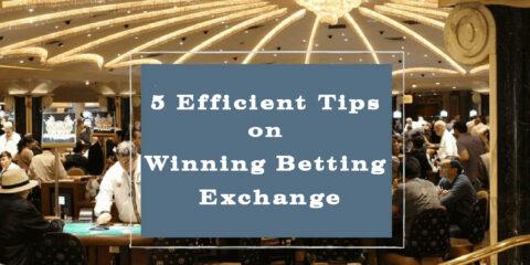 5 Efficient Tips on Winning Betting Exchange